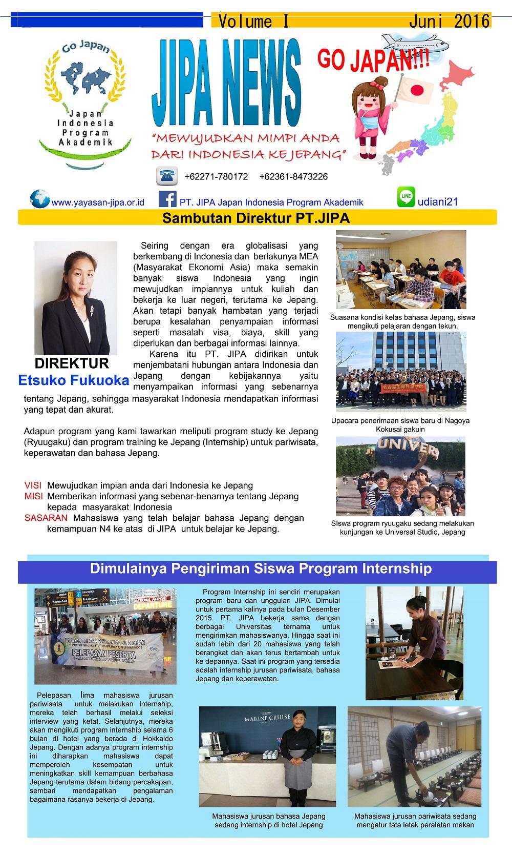 jipa news